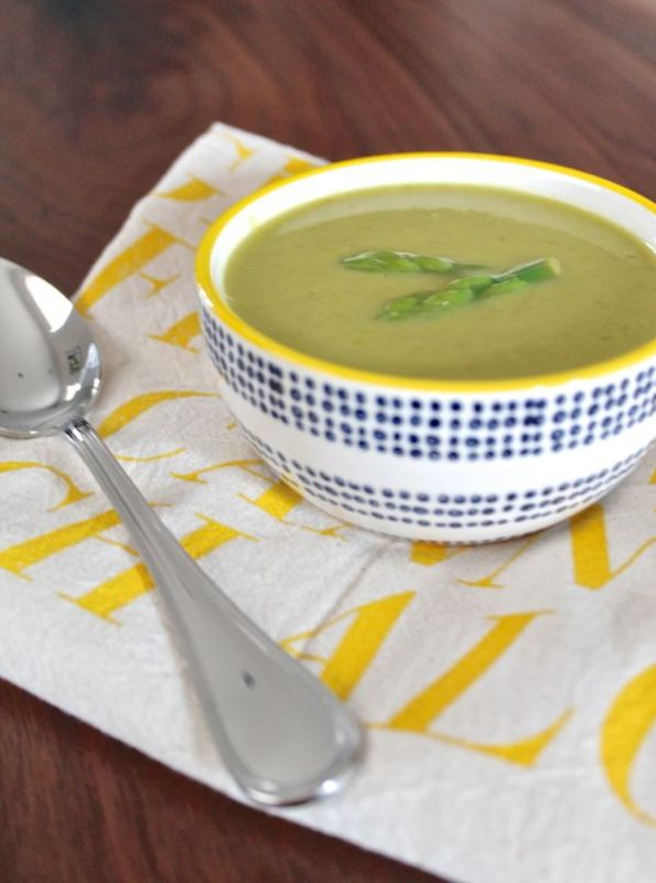 Roasted Asparagus Soup | The Kittchen
