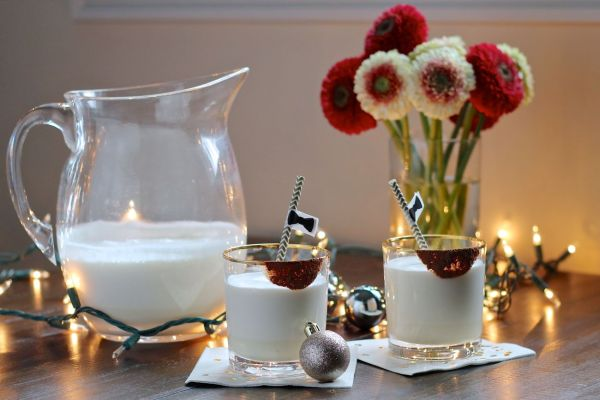 Bourbon Eggnog via The Kittchen