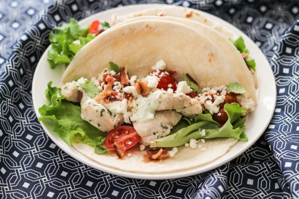 Ranch Chicken Tacos-2