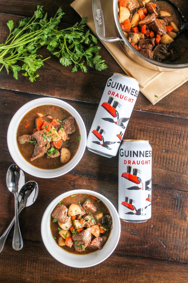 Guinness Stew with Beef and Mushrooms-3