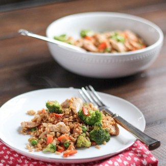 Chicken and Vegetable Fried Rice