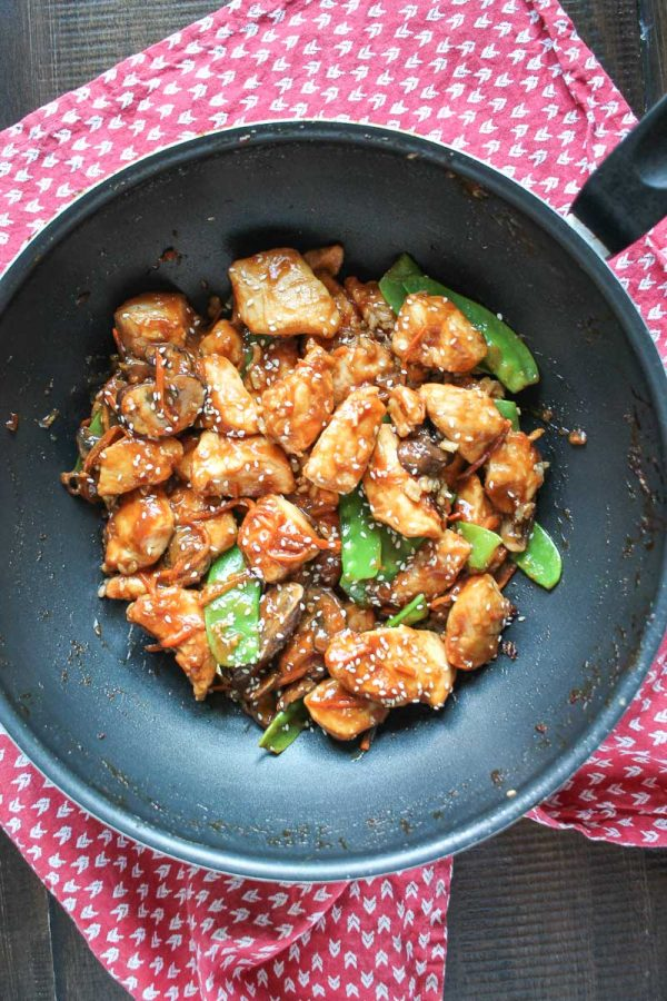 20 Minute Sesame Chicken - a very easy recipe for beginners!