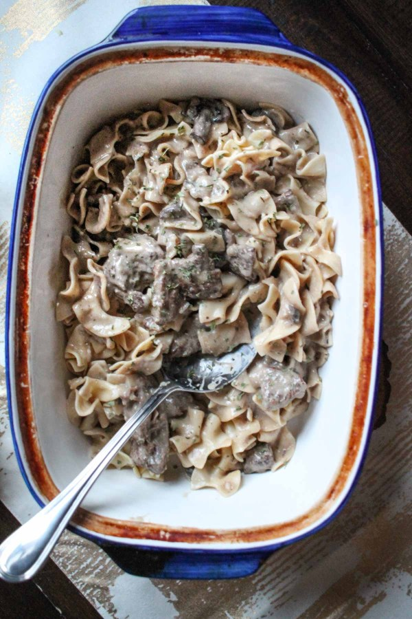 Easy Recipes for Beginners - Crockpot Beef Stroganoff