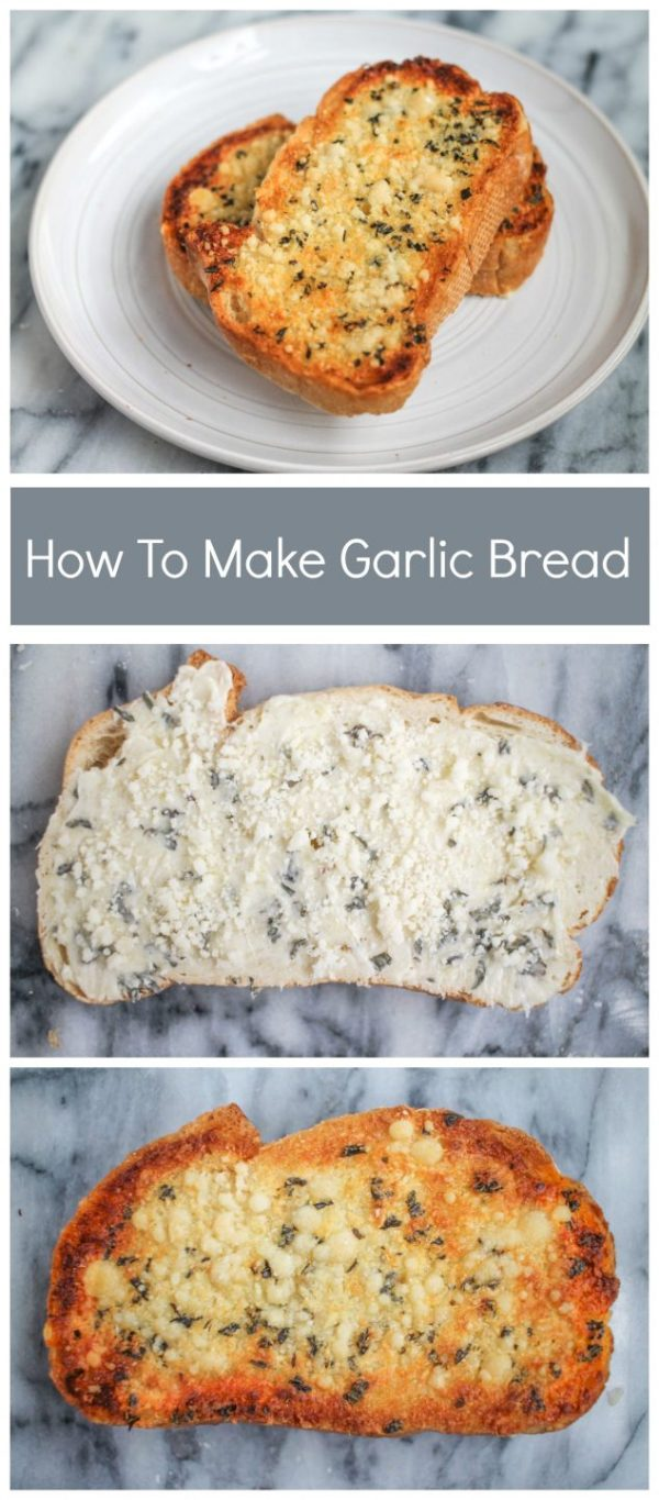 The easiest garlic bread recipe!