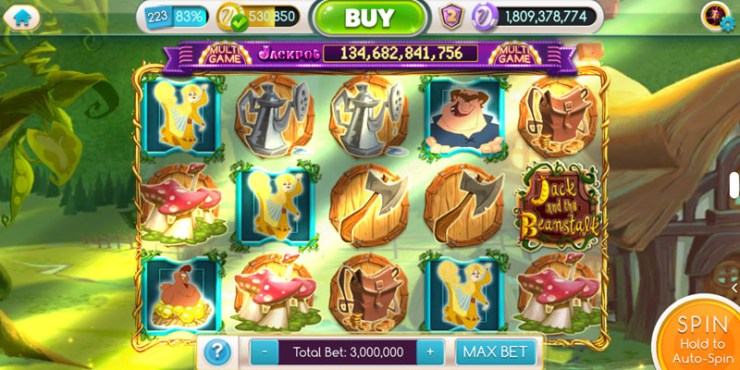Screenshot of MyVegas game