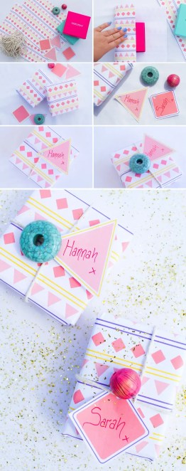 Aztec-Wrapping-Paper-Tags-Final-DIY-Wedding-Blog
