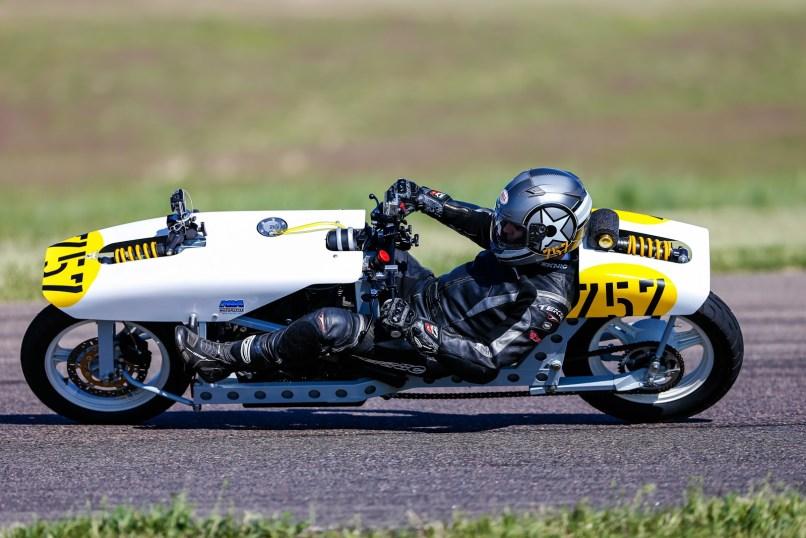 Homebuilt Rebent Motorcycle Racer