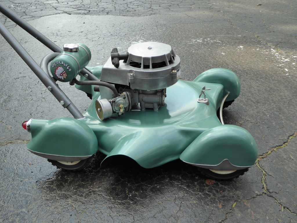 Builders Have to Build So Why Not a Custom Lawnmower?