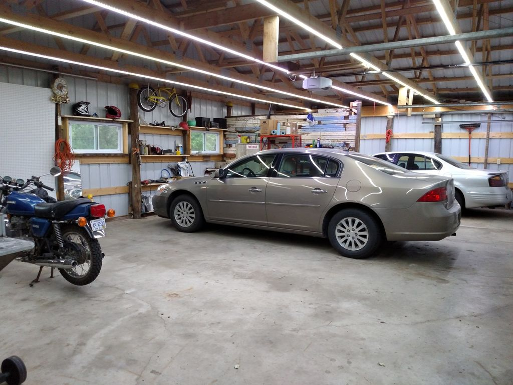 Low Cost LED Garage Lighting