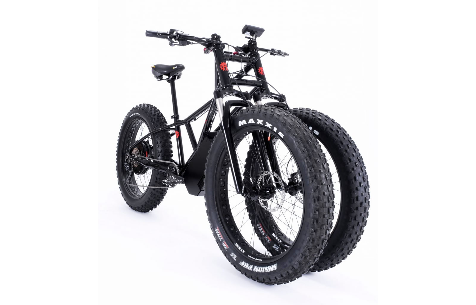 Rungu Juggernaut 3 Wheel Electric Reverse Trike Leans with a Difference