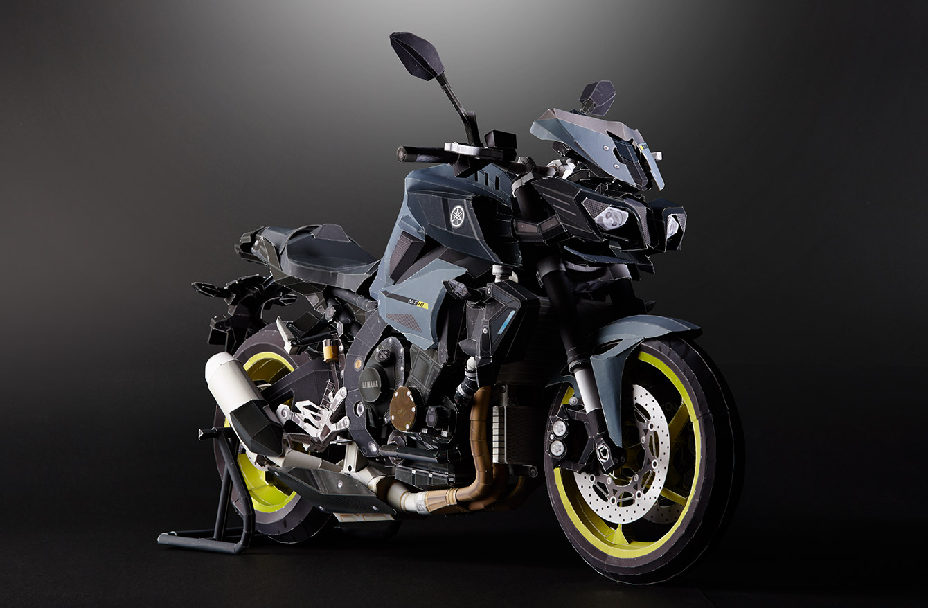 Yamaha Ultra Precision Papercraft Models Will Challenge Your Builder Skills