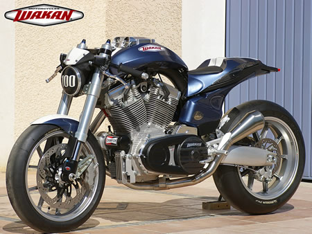 Wakan 1640 New French V Twin Motorcycle