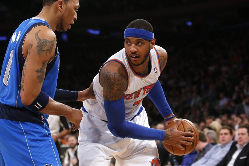 Knicks Film Study: Carmelo Anthony in Isolation