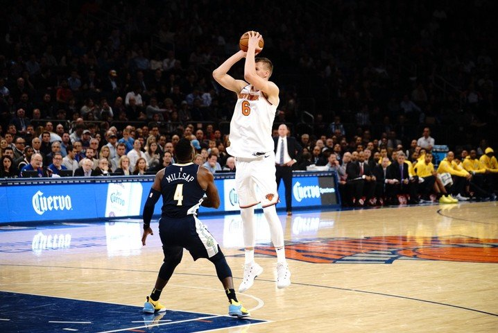 Kristaps Porzingis' Historic Night Capped Off by a Third Straight Knicks Win