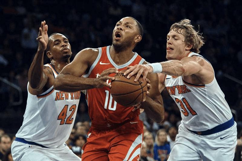 Knicks Look to Extend Winning Streak Against Harden and Rockets