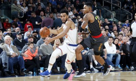 Knicks Triumph Over Hawks 111-107, Even Record at 13-13