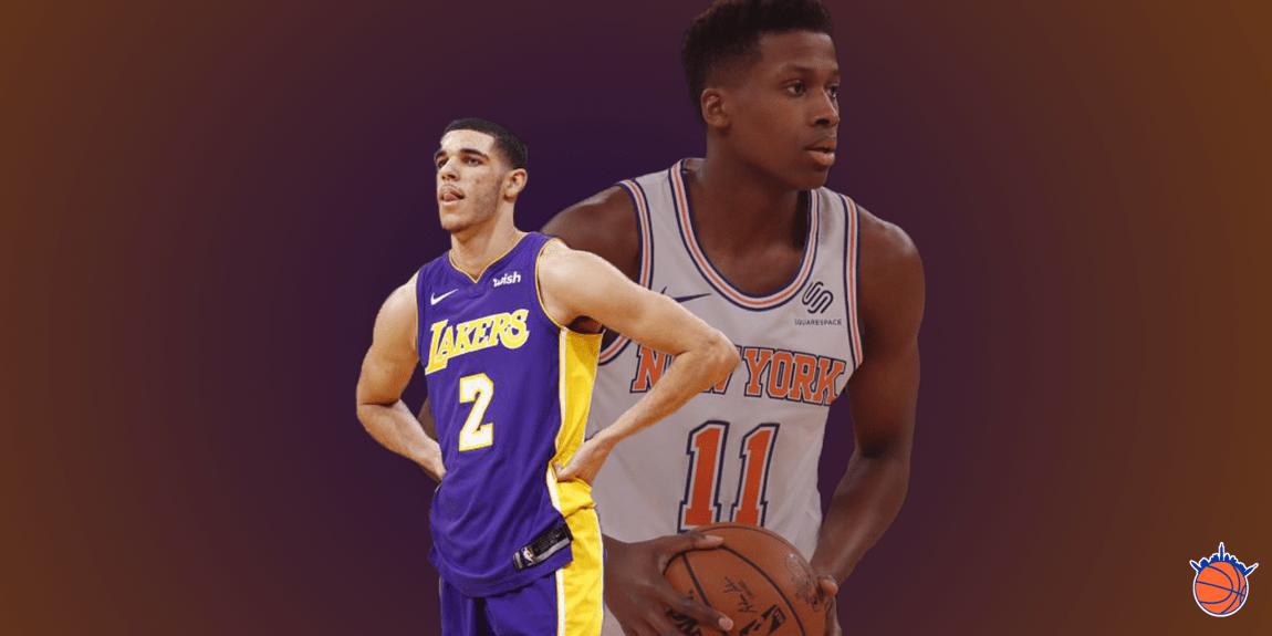 Knicks Film School: Frank Ntilikina Highlights vs. Lonzo Ball and Lakers