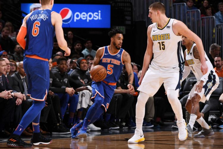 Knicks Decimated by Nuggets Offense, Lose 130-118