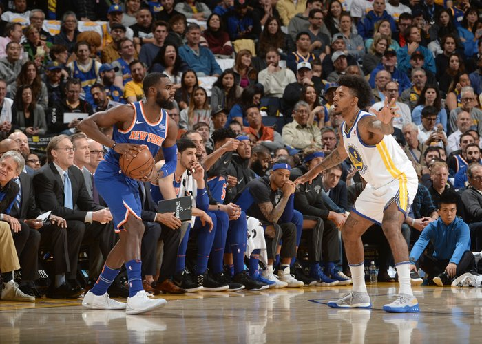 Warriors Come to Town As Knicks Push Youth Movement