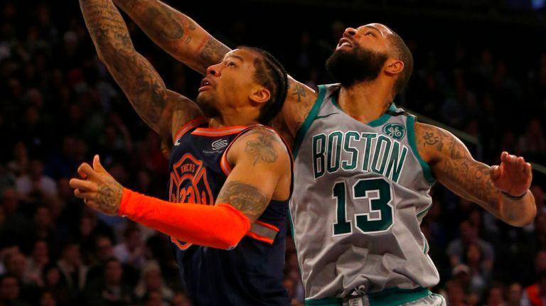 Knicks Lose to Celtics Despite Encouraging Effort