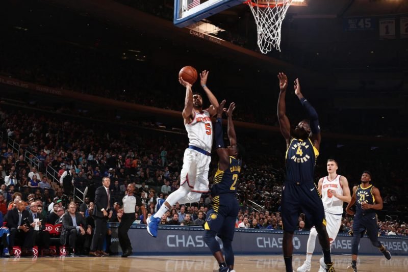 Knicks Travel To Indiana to Face Pacers