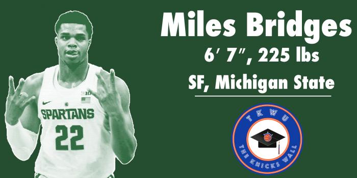 TKW U: Miles Bridges Knicks Breakdown