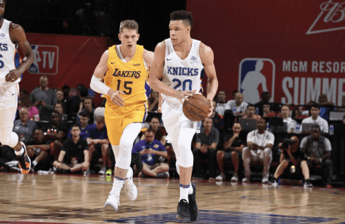 Kevin Knox Explodes in Summer League Loss to Lakers