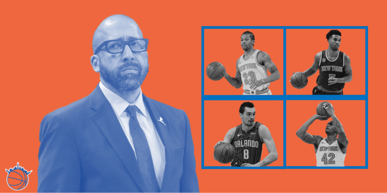 Who Should Be the New York Knicks' Starting Five?