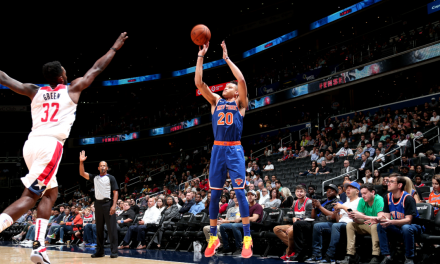 Knicks and Wizards Rematch at the Garden in Preseason