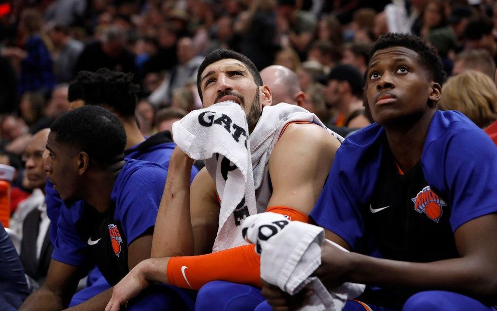 Enes Kanter's Heel Turn Could Be His Last Act on the Knicks