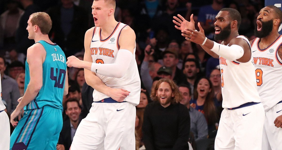 Throwback: Kristaps Porzingis' Career-High 40 Points vs. Pacers