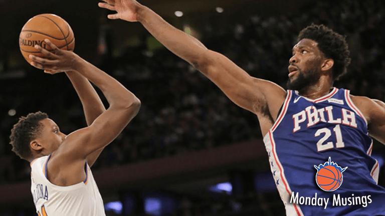 Monday Musings: Knicks at King's Crossroads Amid London Embarkment