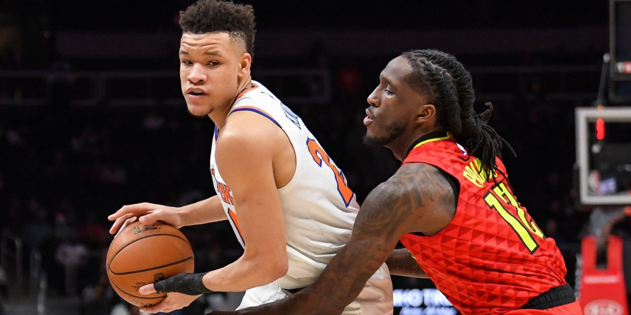 Kevin Knox Scores 11 Points in Rising Stars Challenge Debut