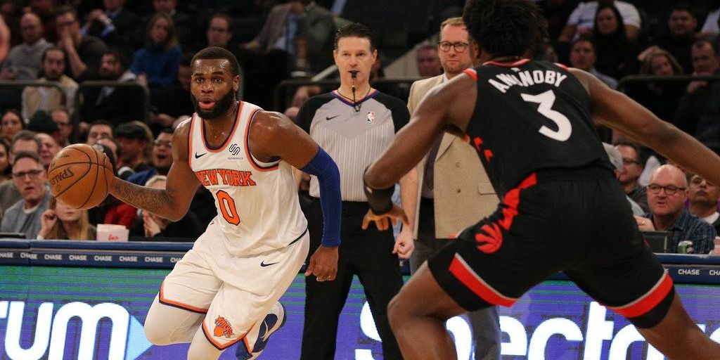 Knicks Travel to Toronto to Face Raptors on Back-to-Back