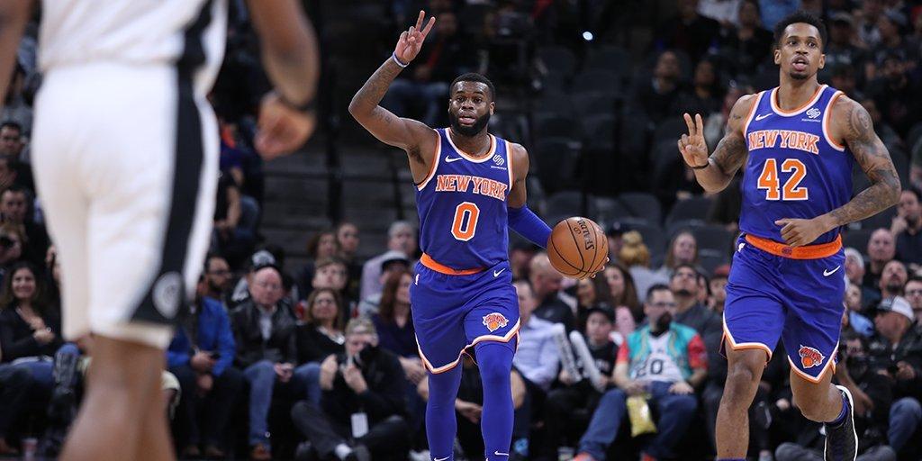 Knicks Picked Apart Like San Antonio BBQ By Spurs