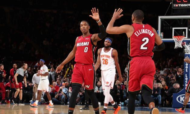Knicks Take on Heat in Final Garden Bow for Dwyane Wade