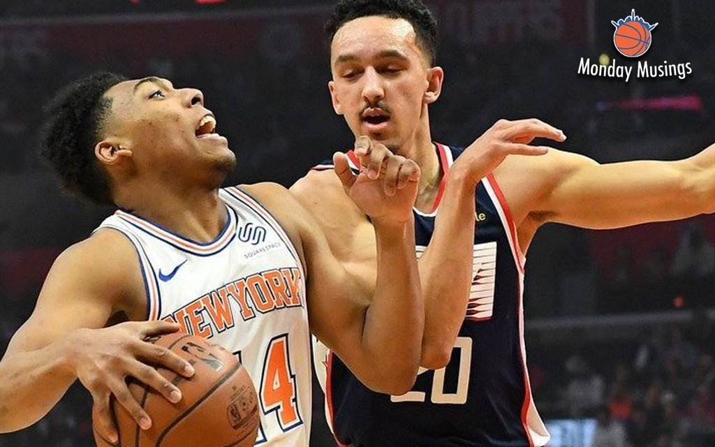 Monday Musings: Knicks Lose in Pathetic Fashion to Clippers