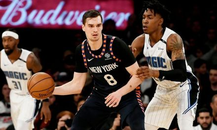 Knicks Seek Second Straight Win, Match Up With Playoff-Fighting Magic