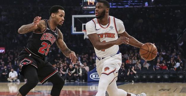Knicks Take Care of Business Against Unsung Bulls