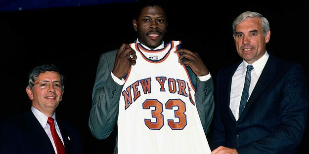 Patrick Ewing Will Represent Knicks at Draft Lottery, ESPN Reports