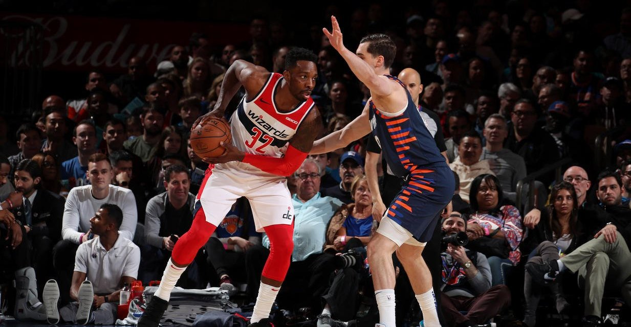 Hezonja Lifts Knicks Against Wizards in Penultimate Home Game