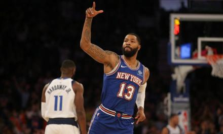 Knicks Triumph over Mavericks at MSG