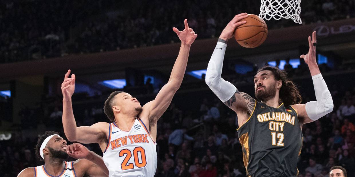 Knicks' Cold Shooting a Catalyst for Forgettable Friday Loss to Thunder