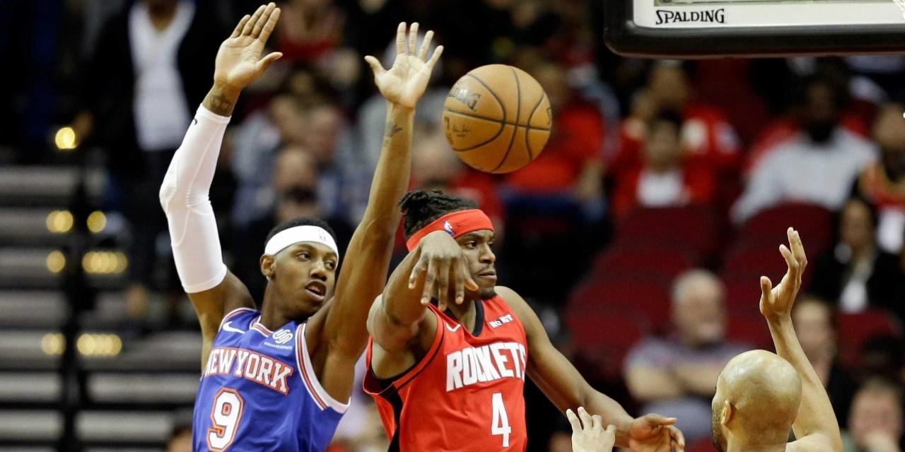 Knicks Look to Start Win Streak Against James Harden, Rockets