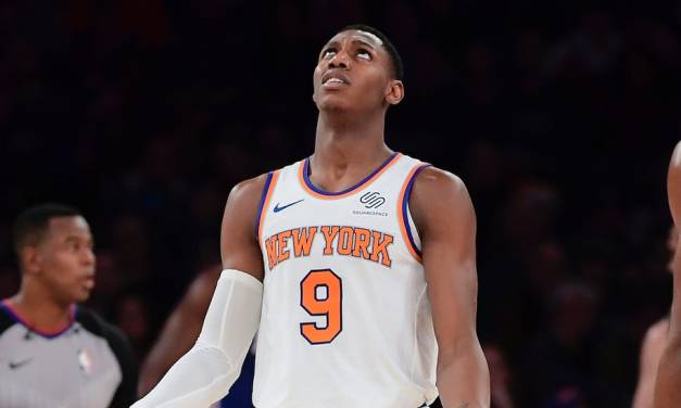 Knicks' RJ Barrett Left Off NBA All-Rookie Teams