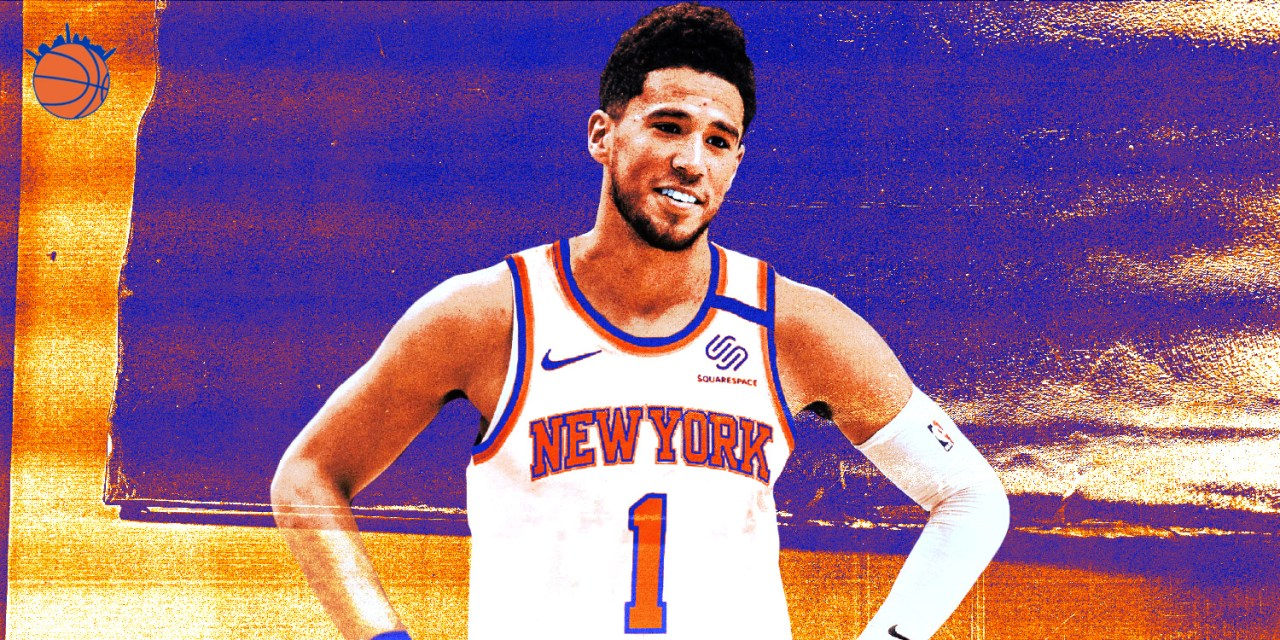Devin Booker Is the Best Chance at a Blockbuster Trade for the Knicks