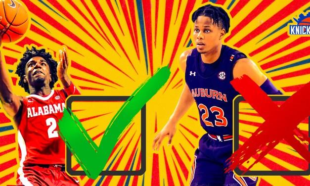 Knicks Dos and Don'ts for Tonight's NBA Draft