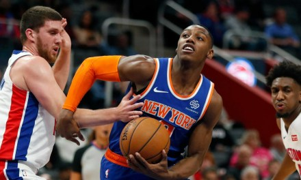 Knicks Shake Off Nine-Month Rust With First Preseason Game Against Pistons