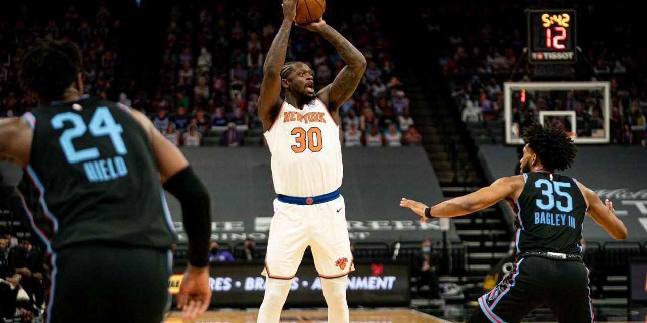 Kings Swat Knicks Back to Under-.500 Reality in Letdown Loss
