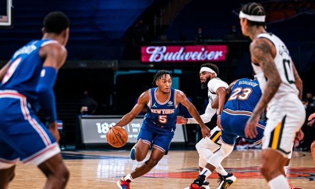 Knicks Finish Road Trip With Rematch With Hot Jazz